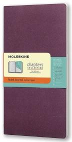 Moleskine - Chapters Journal, Plum Purple, Medium