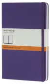 moleskine - notebook large - purple