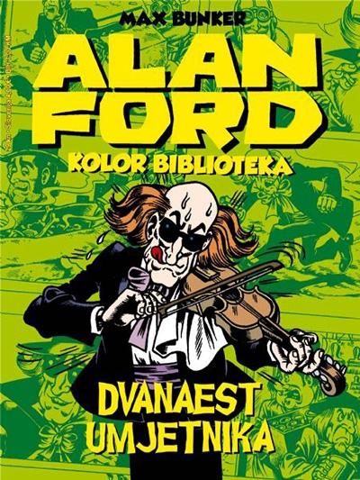 Alan Ford kolor: Dvanaest umjetnika
