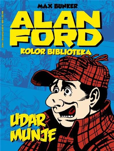 Alan Ford kolor: Udar munje