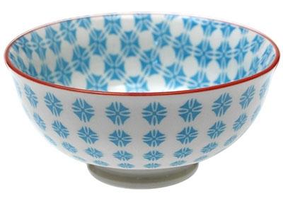 Japanska činija - Blue Aztec