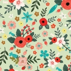 Ukrasni papir - Poppy Meadow