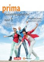 Prima 5, nemački jezik, udžbenik sa radnom sveskom za 1. godinu srednje škole
