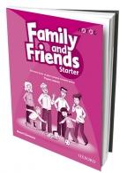 FAMILY AND FRIENDS STARTER, ENGLESKI JEZIK, RADNA SVESKA ZA 2. RAZRED OSNOVNE ŠKOLE