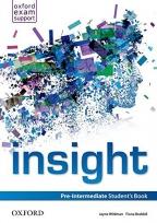 Insight, Pre-Intermediate Student's Book, engleski jezik, udžbenik za 2. godinu srednje škole