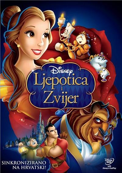 LJEPOTICA I ZVJER, DVD