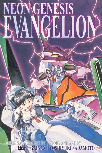 Neon Genesis Evangelion, 3 In 1 Edition, Vol. 1