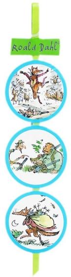 Roald Dahl bukmarker - Fantastic Mr Fox