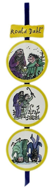 Roald Dahl bukmarker - The Twist