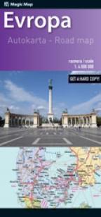 Auto Karta Evrope Grupa Autora Delfi Knjizare Sve Dobre