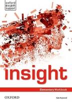 Insight, Elementary Workbook, engleski jezik, radna sveska za 1. godinu srednje škole