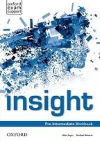 Insight, Pre-Intermediate Workbook, engleski jezik, radna sveska za 2. godinu srednje škole