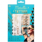 Privremene tetovaže - Metallic Jewellery