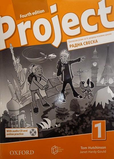 Project 1, engleski jezik, radna sveska za 4. razred osnovne škole - četvrto izdanje