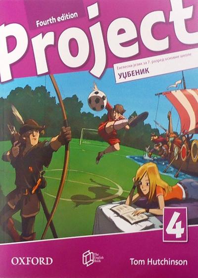 Project 4, engleski jezik, udžbenik za 7. I 8. razred osnovne škole - čevrto izdanje