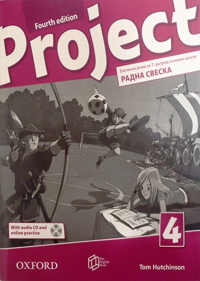 Project 4, engleski jezik, radna sveska za 7. I 8. razred osnovne škole - četvrto izdanje