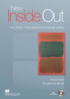 NEW INSIDE OUT, ADVANCED STUDENT BOOK WITH CD, ENGLESKI JEZIK, UDŽBENIK ZA 4. GODINU SREDNJE ŠKOLE