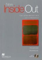 New Inside Out, Advanced Workbook, key + audio CD, engleski jezik, nastavni listovi za 4. godinu srednje škole