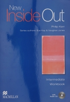 NEW INSIDE OUT, INTERMEDIATE WORK BOOK - KEY PACK, ENGLESKI JEZIK, NASTAVNI LISTOVI ZA 3. GODINU SREDNJE ŠKOLE