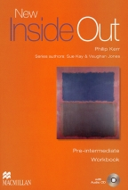 New Inside Out, Pre-Intermediate, Workbook - key pack, engleski jezik, nastavni listovi za 2. godinu srednje škole