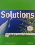 Solutions, Elementary Student's Book, with Multirom Pack, engleski jezik, udžbenik za 1. godinu srednje škole