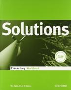 Solutions, Elementary Workbook, engleski jezik, radna svesla za 1. godinu srednje škole