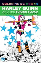 harley quinn the suicide squad an adult coloring book