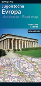 Auto Karta Jugoistocne Evrope Grupa Autora Delfi Knjizare