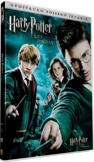 Harry potter 5: red feniksa DVD