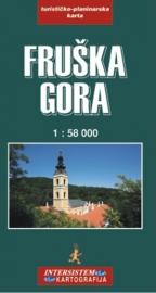 Fruška gora - turistička karta