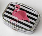 Pill Box Flamingo Assorted