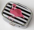 Pill Box Flamingo Assorted
