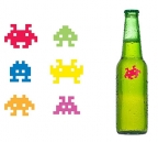 Space Invader Drink Markers, 1/6