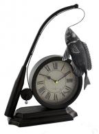 Stoni sat Fishing Rod & Fish Clock