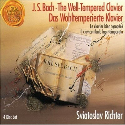 THE WELL TEMPERED CLAVIER - J.S. BACH