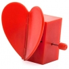 wind-up heart beating flapping heart