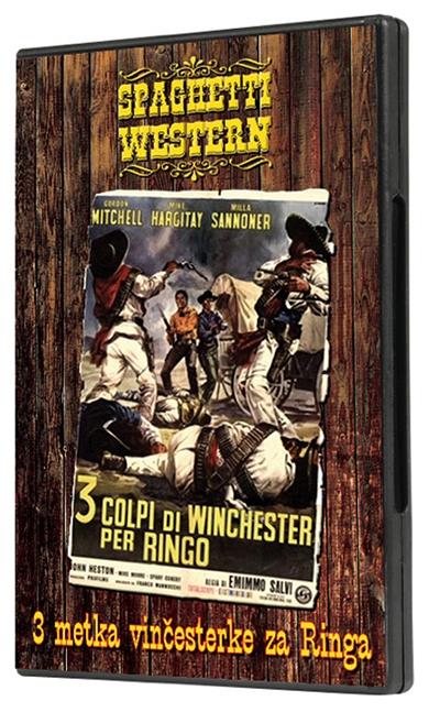 Tri metka vinčesterke za Ringa, dvd