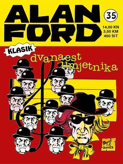 Alan Ford klasik 35: Dvanaest umjetnika