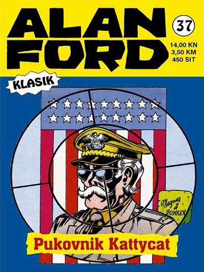 Alan Ford klasik 37: Pukovnik Kattycat