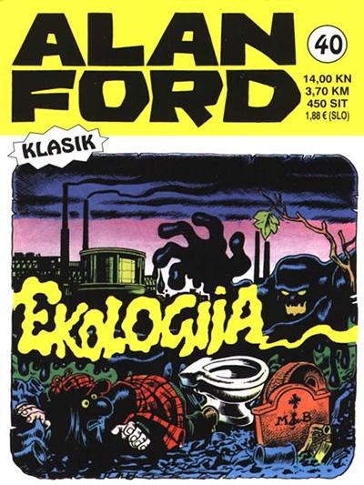 Alan Ford klasik 40: Ekologija