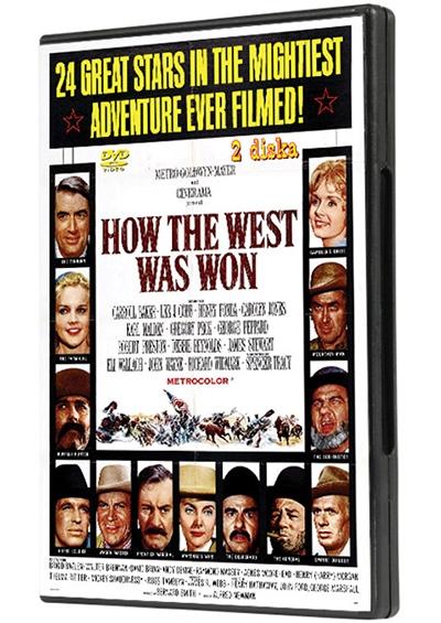 Kako je osvojen Divlji Zapad, 2 x dvd