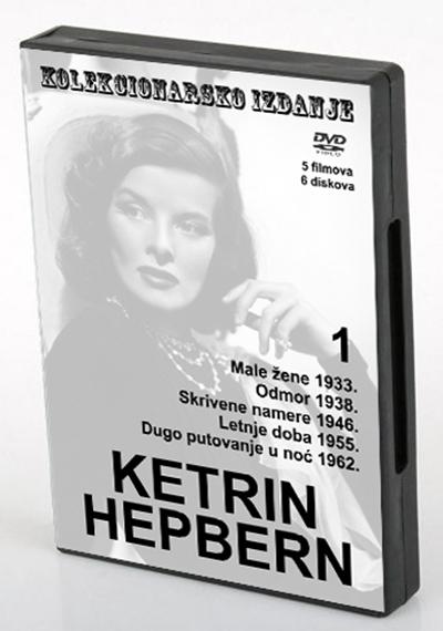 KETRIN HEPBERN, 1, 6 X DVD