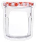 Large Jam Zipper Jar Bag