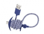 Micro USB Lightning Anchor Charging Cable