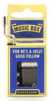 music box - for hes a jolly good fellow