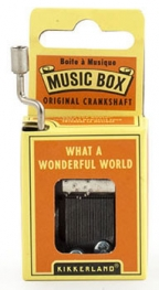 Music Box - What A Wonderful World