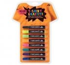 Set neon flomastera za crtanje po tkanini - Graffiti Pens