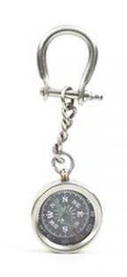 Keychain Nautical Compass