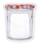 Small Jam Zipper Jar Bag