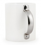 Mug With Silver Handle